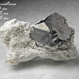 Bixbyite – Location: Solar Wind Mine –  Thomas Range, Juab Co., Utah.  BOX01