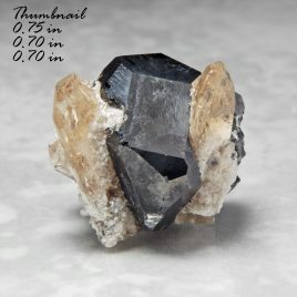 Bixbyite & Gem Pink Topaz – Location: Thomas Range, Juab Co., Utah.    BOX01