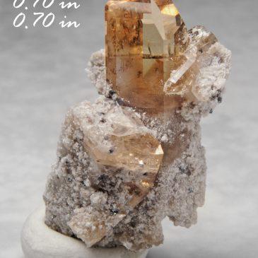 Topaz (Gem) ? Location: Thomas Range, Juab Co., Utah. BOX03