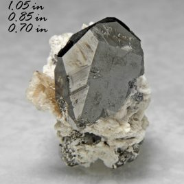 Bixbyite – Location: Solar Wind Mine –  Thomas Range, Juab Co., Utah.  BOX03