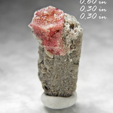 Rare Raspberry Red Beryl (also sometimes called Bixbite) & Topaz ? Location: Thomas Range? Juab Co.? Utah.    BOX05