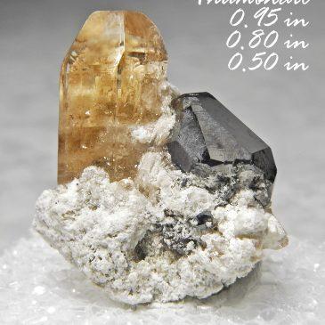 Bixbyite & Gem Pink Topaz – Location: Thomas Range, Juab Co., Utah.