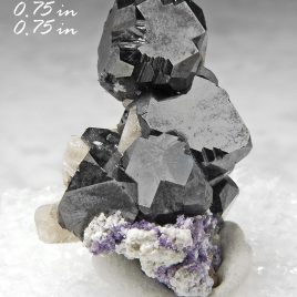 BOOK_SPECIMEN-Bixbyite & Gem Pink Topaz with Fluorite – Location: Thomas Range, Juab Co., Utah.