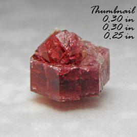 BOOK_SPECIMEN-Rare Raspberry Red Beryl (also sometimes called Bixbite – Location: Thomas Range, Juab Co., Utah.