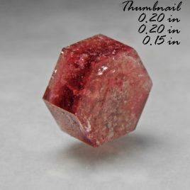 BOOK_SPECIMEN-Rare Raspberry Red Beryl (also sometimes called Bixbite) – Location: Thomas Range, Juab Co., Utah.