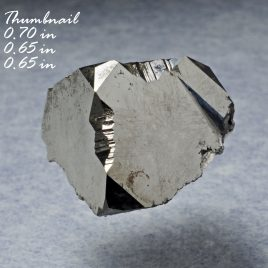 BOOK_SPECIMEN-Bixbyite (Large Crystal) (0.70 in) – Location: Thomas Range, Juab Co., Utah.