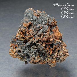 BOOK_SPECIMEN-Rare Cassiterite (Nodular 'Wood-tin'),  &  Hematite – Location: Thomas Range, Juab Co., Utah.