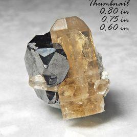 BOOK_SPECIMEN-Very Large Bixbyite & Gem Pink Topaz – Location: Thomas Range, Juab Co., Utah.